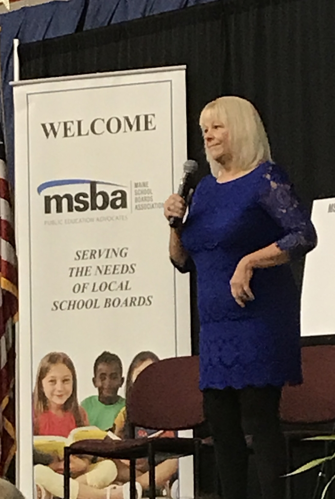 MSMA keynote speaker Donna Beegle, Thursday at MSMA Fall Conference.